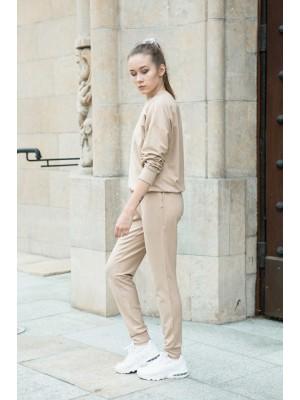 spodnie dresowe STELLA z modalu / caramel