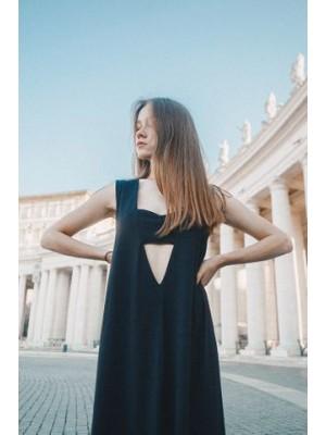 sukienka PERLA NERA z modalu