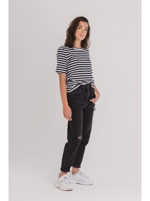 T-shirt BASICONE stripes