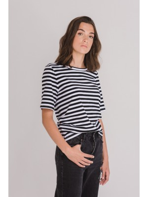 T-shirt BASICONE stripes
