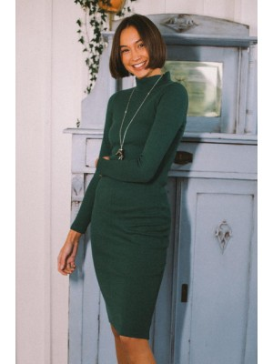 Sukienka FRIDA zielona