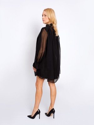 Sukienka Black Frill Mini