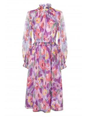 FLORAL COLOUR DRESS