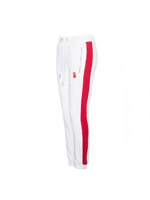 WHITE RED SWEATS