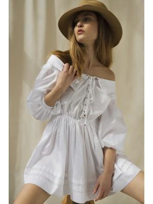 TREVA WHITE DRESS