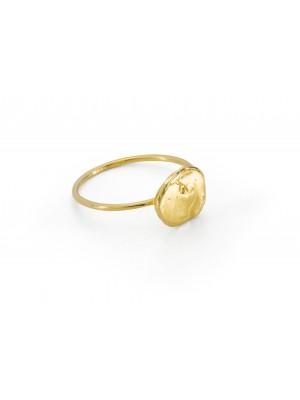 Pierścionek Smooth / gold