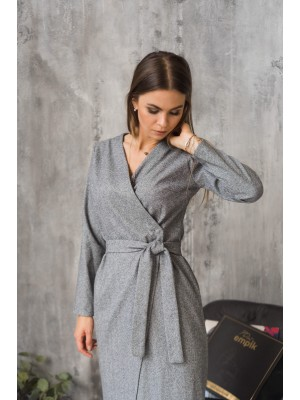 Sukienka VIOLA szara