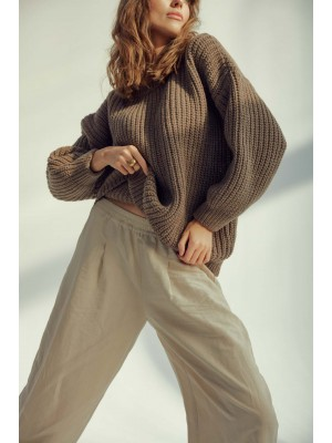 Sweter Brown Mist