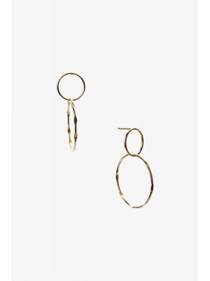 MEDITATION EARRINGS GOLD