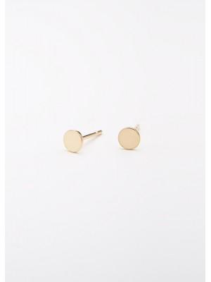 DOTS PIN EARRING GOLD
