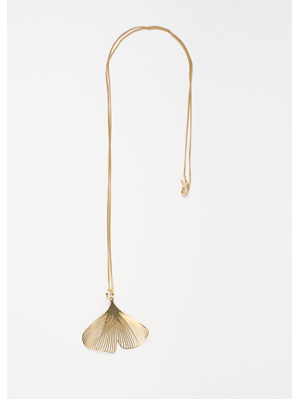 GINGKO LITTLE NECKLACE GOLD