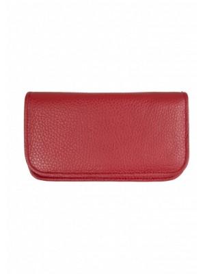 portfel multicard czerwony