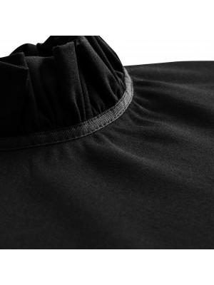bluzka z falbanką black