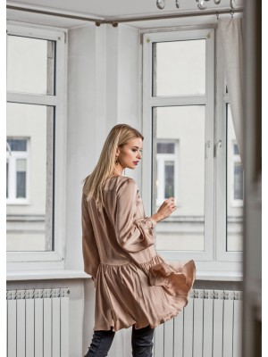 KALIA COCTAIL DRESS NUDE