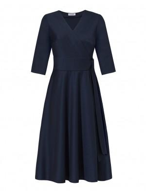Sukienka Giovanna Granat
