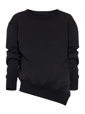 Asymetryczna bluza z rozporkiem LUNA
