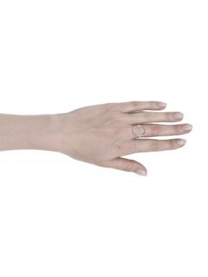 """srebrny pierścionek """"loop"""""""